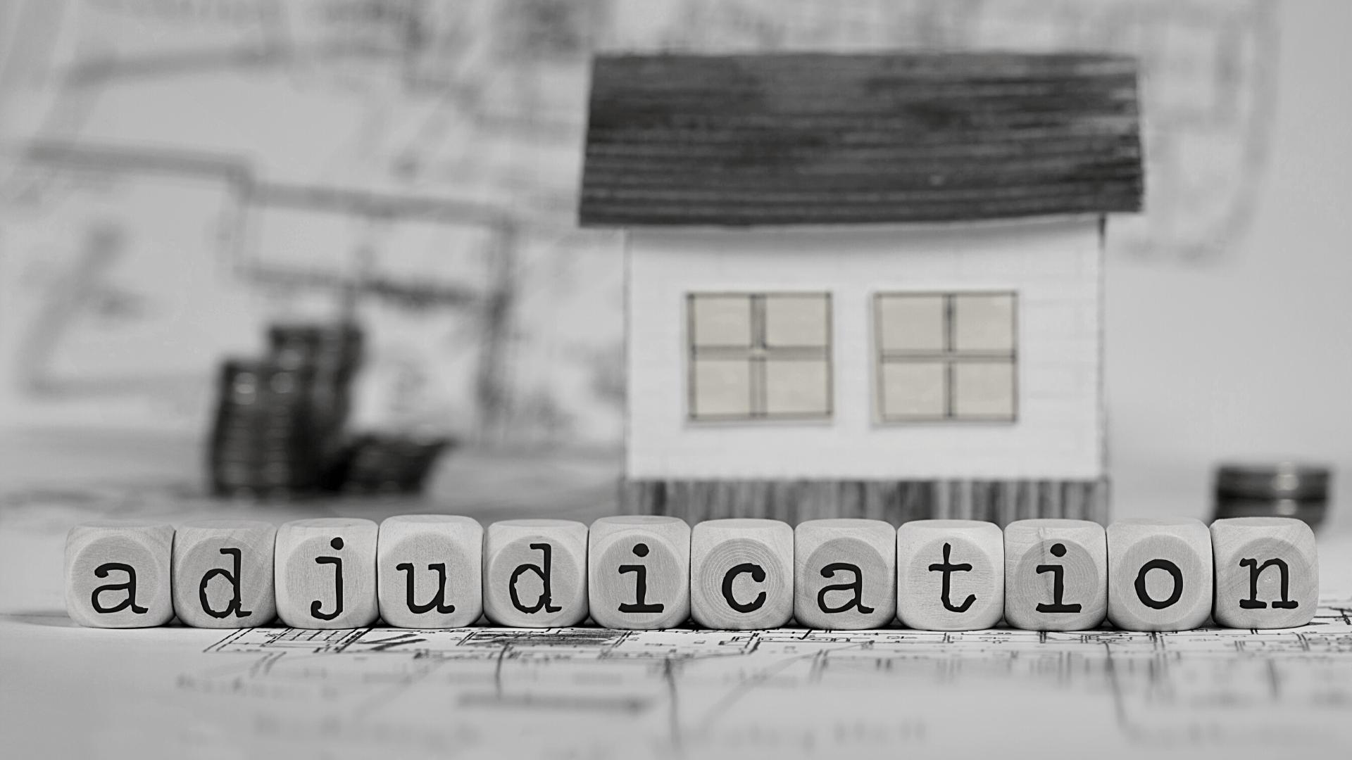 building and construction adjudication