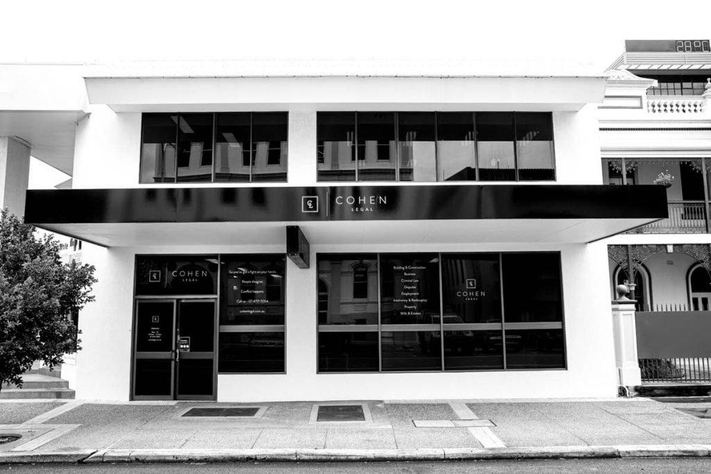 Cohen Legal Townsville Building